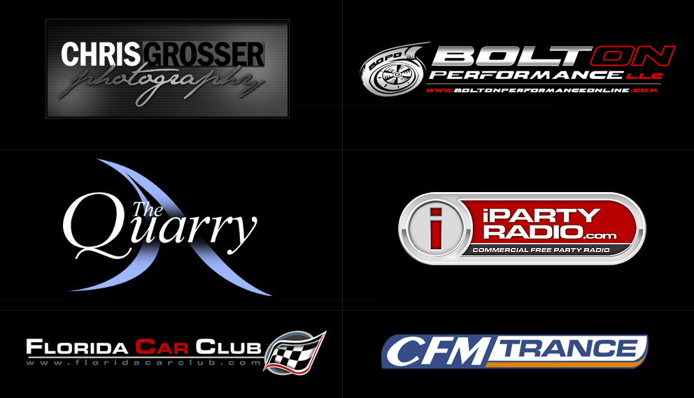 Chris Grosser Photography, BoltOnPerformance LLC, The Quarry, iParty Radio, Florida Car Club, ClubFM Trance