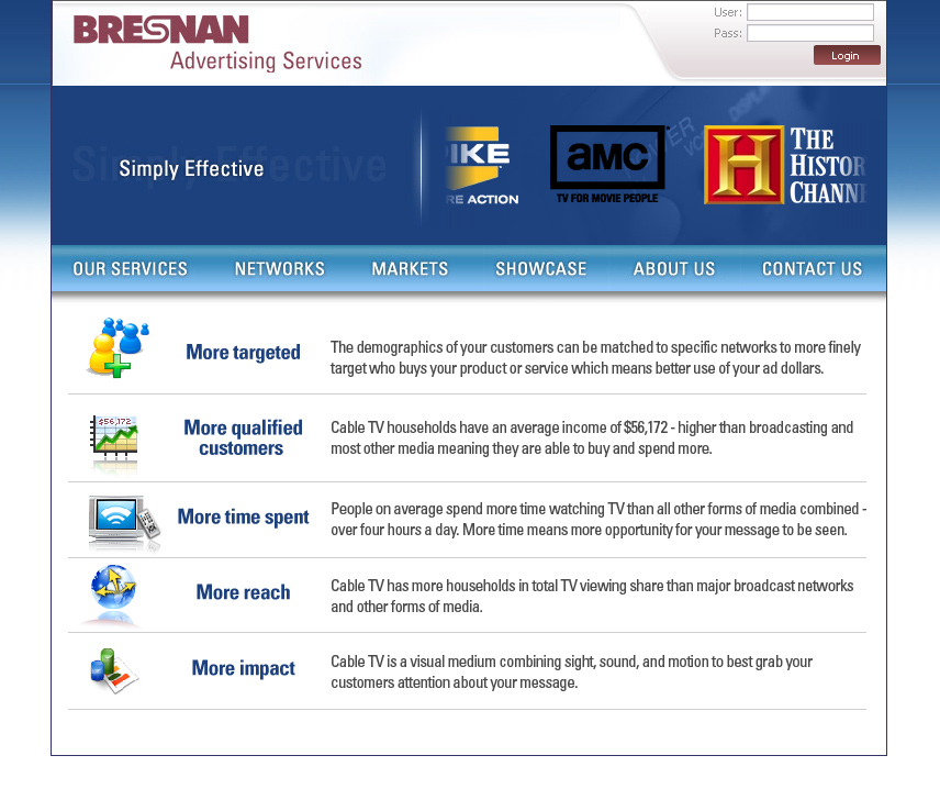 Advertise On Bresnan
